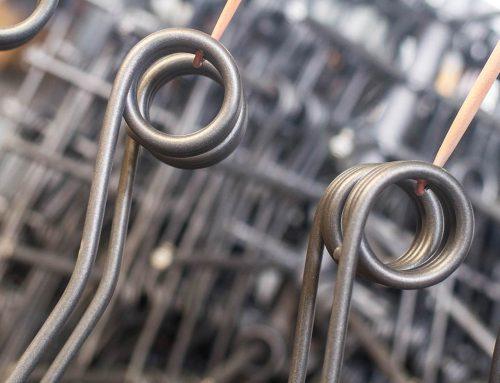 Molle in acciaio al carbonio