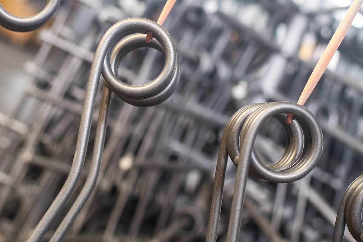 Mollificio Adriese molle e denti in filo di acciaio al carbonio