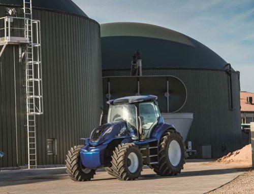 Trattore a metano: presentato il concept dal New Holland Agricolture