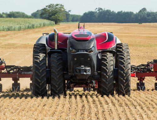 L'agricoltura è farmerless con droni e robot