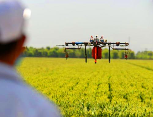 L'agricoltura cresce ma sotto l'occhio del drone